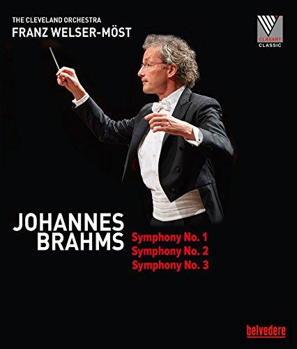Brahms: Symphonies 1, 2 & 3 [The Cleveland Orchestra; Franz Welser- Möst ] [Belvedere: BVE08011] [Blu-ray] [Reino Unido]
