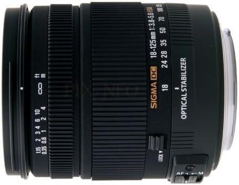 Sigma 18 125mm 3 8 5 6 Dc Os Hsm Objektiv Für Canon Kamera