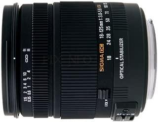 シグマ 18-125mm F3.8-5.6  DC OS HSM  キヤノン用