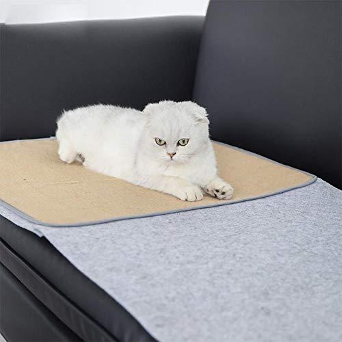 BRANDNEWS krasmat voor katten krasmat sofa natuurlijke sisal huisdier krasmat voor bank Shield beschermhoes voor meubels stoel bank 140 x 92 cm in stijl