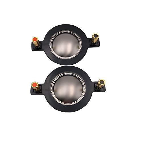 WNJ-TOOL, 2 stücke 44.4mm Höhle Voice Coil Audio Lautsprecher Ersatzmembran High Pitched Membran Hochtöner Reparaturteile Montage