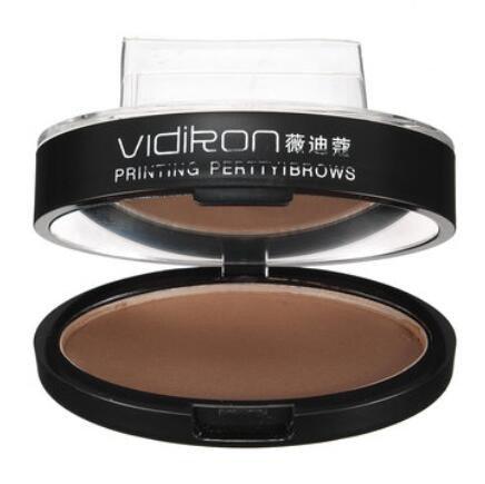 Bluelover Naturel À Long Terme Imperméable À l'eau Tampon Sourcil Brwon Grey Yeux Maquillage Poudre Palette Outil - #01