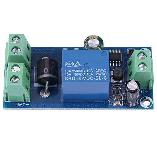 Módulo de interruptor automático con terminales de tornillo 5V ~ 48V 10A DC para fuente de alimentación de emergencia/controlador de batería