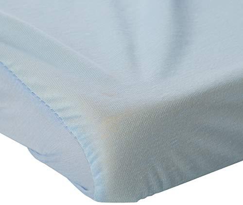 Hippychick HCTBP0CBL Tencel matrasbeschermer - hoeslaken babybed, 60 x 120, blauw