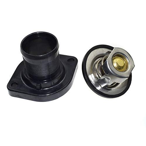 VITKT Ajuste de la carcasa del termostato para PEUGEOT 206 306 307 1007 FIT PARA CITROEN BERLINGO C3 C4 1.4 1.6 1336Q1 1336.Q1 1336.N5 3463.89D