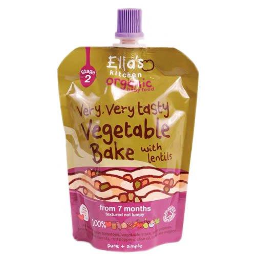 エラズ・キッチン オーガニック『有機野菜100%離乳食 レンズ豆入り野菜ベイク』