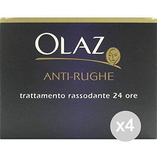 Olaz Set mit 4 Anti-Falten-Nachtcreme, straffende Gesichtspflege und -Reinigung, Mehrfarbig, einzigartig