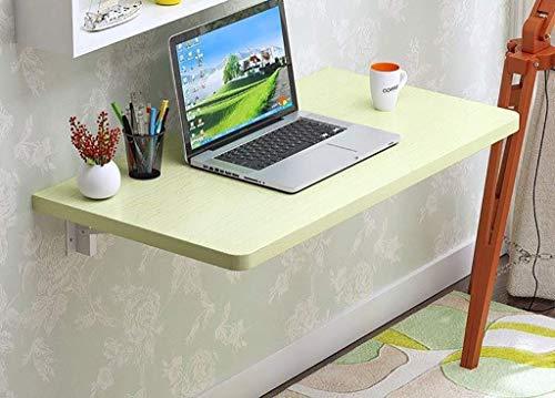Unknow Mesa Mesa para Ordenador portátil Mesa de Ordenador/Cocina caduca de Pared Arce Blanco (tamaño: 120x40 cm)