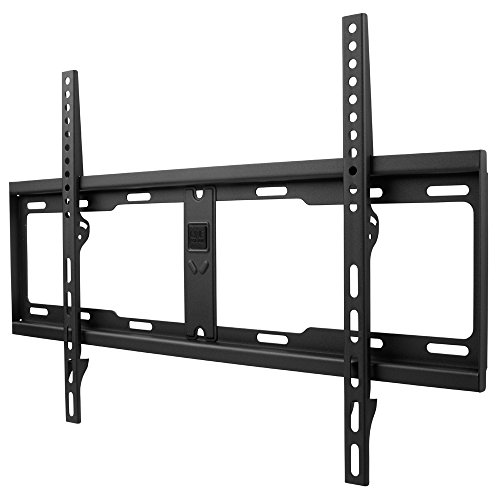 One For All TV-Wandhalterung - Fernseher Halterung - Curved 4K OLED QLED LED Flachbildfernseher - 32 bis 84 Zoll - VESA 200x200 bis 600x400 - 10 Jahre Garantie - max. 100 kg - Schwarz – WM4611