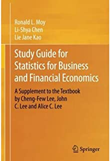 Study Guide for Statistics for Business and Financial Economics by Ronald L. Moy and Lie Jane Kao - Paperback