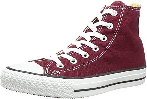 Converse Chuck Taylor All Star Hi Top, Zapatillas Unisex Adulto, Rojo (Maroon), 39 EU