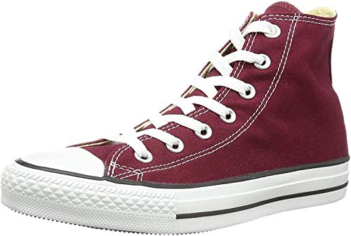 Converse Chuck Taylor All Star Hi Top, Zapatillas Unisex Adulto, Rojo (Maroon),...