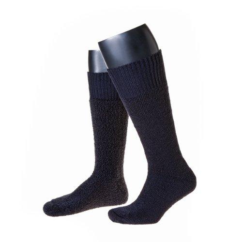 NORDPOL-Strümpfe Thermo-Stiefel-Socken Made in Germany im 2er Pack (39-42, marine)