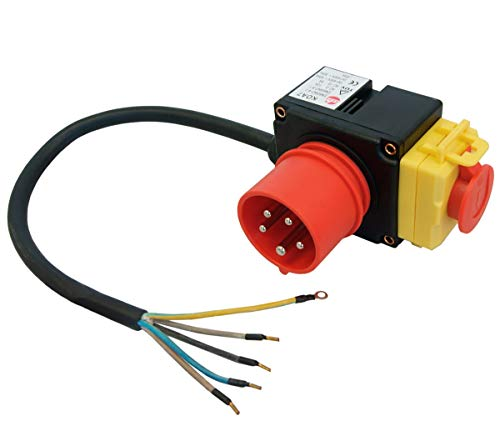 LESCHA ATIKA Ersatzteil | Ein-/Aus Schalter 400V für Holzspalter ASP 10 N/ASP 14 TS/SPL 10