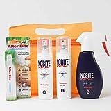 RENNER XXL Nobite Sorglospaket Nobite Haut-Spray+ Nobite Kleidung, AfterBite MÜCKENSCHUTZ INSEKTENSCHUTZ Moskito-Zecken Tropen Abwehr