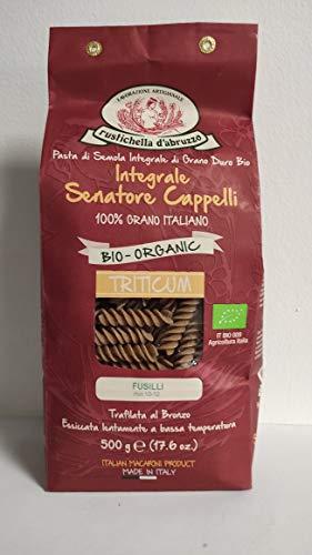 Rustichella D'Abruzzo - Pasta Bio Vollkorn Senatore Cappelli Fettuccine 500g