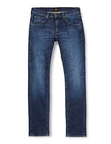 Lee Daren Zip Fly Jeans, Espuma Media, 32W x 32L para Hombre