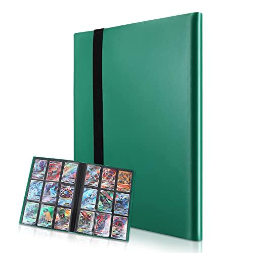 9 Pocket Album di raccolta biglietti da collezione con 360 Tasche Album, Porta carte per Pokemon, YuGiOh, ecc.