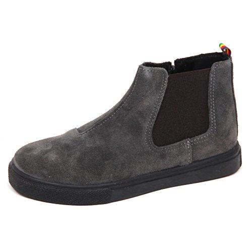 MANUEL RITZ E2182 Beatles Bimbo Grey Scarpe Boot Shoe Kid Boy [32]