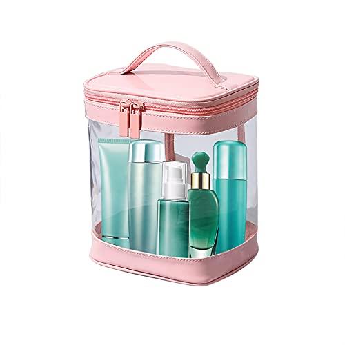 Phoeni - Borsa per cosmetici impermeabile, trasparente, portatile, in PVC, trasparente, per viaggi o bagno, borsa da viaggio (Style2), Stile 5, X,
