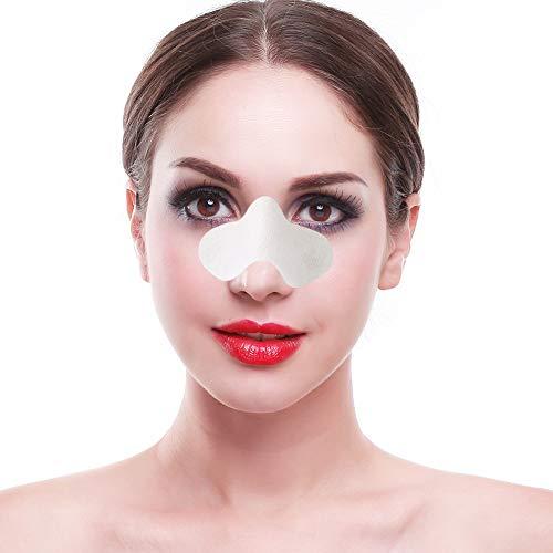 NASENPFLASTER - 50 Stück Nasenstrips gegen Mitesser, Tiefenreinigende Nasenstrips gegen Mitesser, Streifen zur Hautverfeinerung und Mitesser-Entfernung