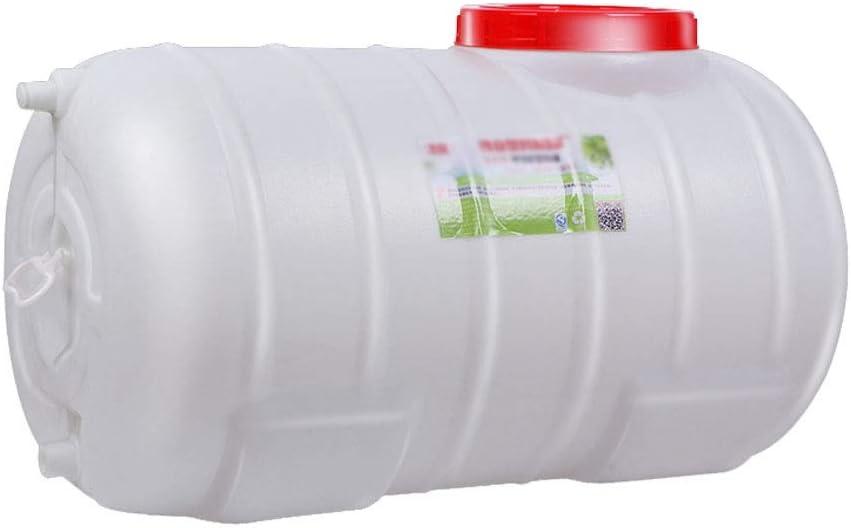 Horizontal del tanque de agua /ácido y el /álcali Resistencia Qu/ímica barril hogar al aire libre Cubo dep/ósito de agua Multi-s de gran capacidad de agua de pl/ástico grueso Tanque de almacenamiento