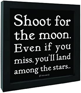Best shoot for the moon wall art Reviews