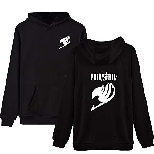 Tayaho Fairy Tail Unisexe Ocasionales Deportiva Hoodie Sudaderas Moda CÓModo Estampados Hoodie Sueter