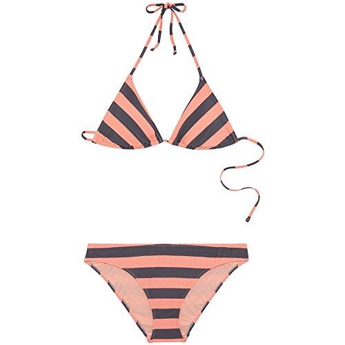 Chiemsee Damen Gemustert zum Schnüren Triangle Bikini-Set, D1091 Stripe, S