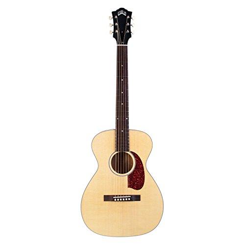 Guild M-40E Troubadour Concert Guitarra Acústica-Eléctrica Natural