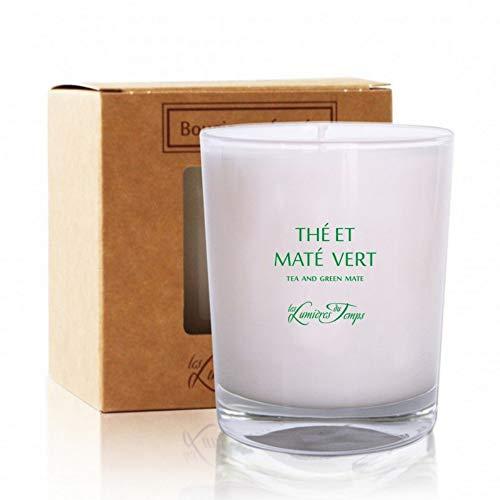 Bougie parfum thé et mate vert (180gr.)