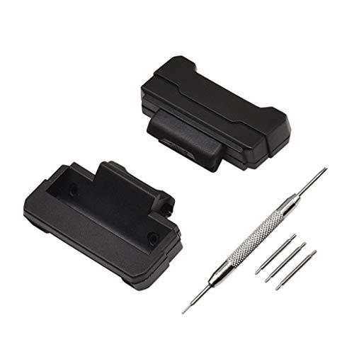 WOWOWO Juego de Herramientas de Barras de Resorte de Adaptador de 1 Juego para G-Shock DW-5600 DW-6900 G-5700 GA-100 Kit