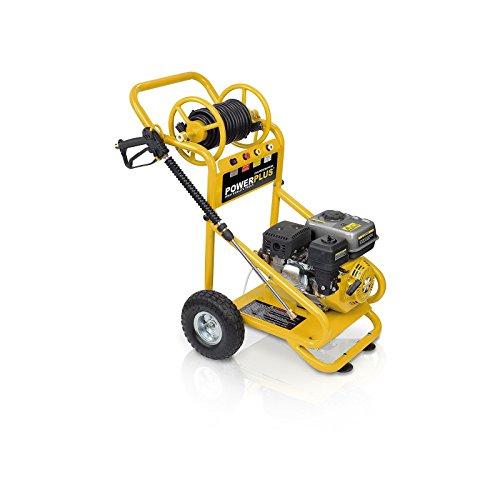 VARO POWXG9007Upright Gasoline 600L/h 4800W Black, Yellow Pressure Washer–Pressure Washers (Upright, Gasoline, Black, Yellow, Brass)