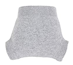 Image: zefen Reusable Baby Diaper Cover/Knit Co | Natural, so soft, breathable, waterproof. Perfect with prefolds for hot climate