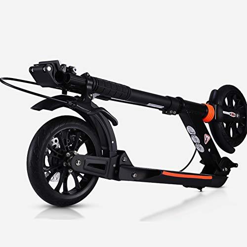 Patinete- Scooter No Eléctrico para Adultos para Adolescentes Y Niños, Scooter Plegable...