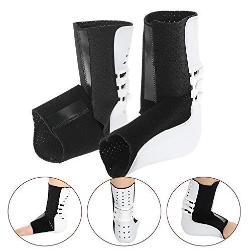 TMISHION enkelsteun, voetdruppelcorrector, enkelbescherming met verstelbare enkelband voetsteunband, voor sprayhulp, tendines, pijn, verlicht druk en bevordert herstel