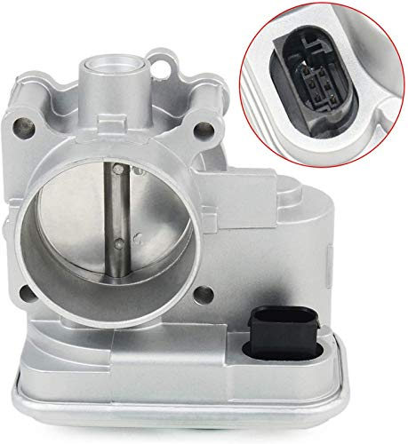 Electronic Throttle Body Compatible with Chrys-ler 200 Sebring Jeep Patriot Compass Dodge Caliber Avenge Journey 1.8L 2.0L 2.4L 2007-2017, Replacement for 04891735AC 4891735AD 977-025 with IAC & TPS