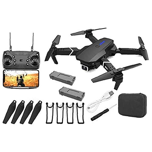 JJDSN GPS Drone E88 PRO Drone GPS Pieghevole con Fotocamera 4K per Adulti, quadricottero con Motore brushless, Borsa per Il Trasporto, Lungo Raggio di Controllo, Drone con Video in Diretta RC Quad