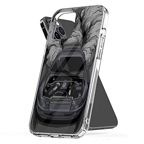Phone Case to-yo-ta Supra 2jz GTE Compatible with iPhone 6 6s 7 8 X XS XR 11 Pro Max SE 2020 Samsung Galaxy Tested Funny