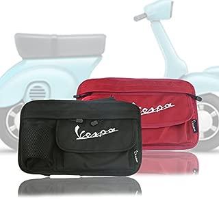 PRO-KODASKIN Glove Bags Storage Bag for Vespa GTS LX LXV Sprint Primavera 50 125 250 300 (Black)