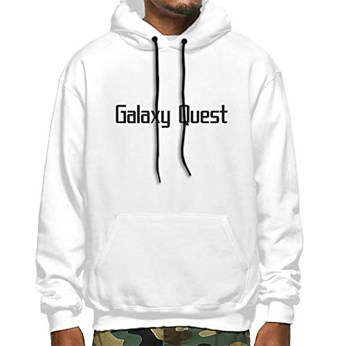 Galaxy Quest Unisex Hooded Sweatshirt Sweater Pullover for Mens and Womens White