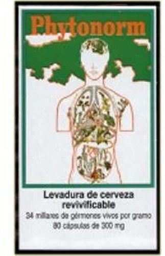 Phytonorm (Levadura de Cerveza) 80 cápsulas de Intersa