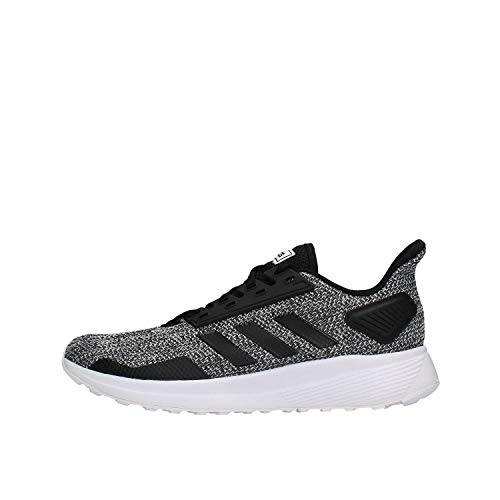 adidas Duramo 9, Zapatillas de Trail Running Hombre, Multicolor (Negbás/Negbás/Ftwbla 000), 44 EU