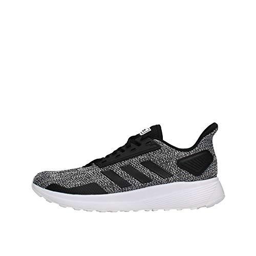 adidas Duramo 9, Scarpe Running Uomo, Nero (Cblack/Cblack/Ftwwht Cblack/Cblack/Ftwwht), 43 1/3 EU