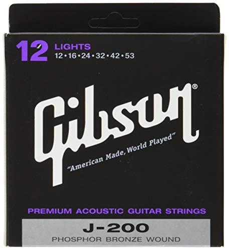 Gibson J-200 Akustik Saiten, 6 Strings .012-.053