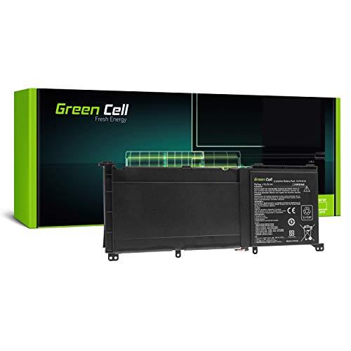 Green Cell Akku für Asus ZenBook Pro UX501 UX501J UX501JW UX501JW-CN504T UX501V Laptop (3650mAh 15.2V Schwarz)