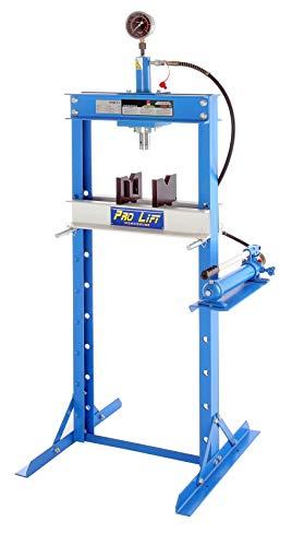 Pro-Lift-Werkzeuge Hydraulik-Presse 12 t manuell Handpumpe Werkstatt Industriepresse umformen Shop-Press verschraubt Rahmenpresse