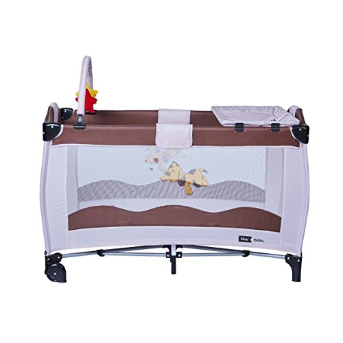 Star Ibaby AC002 Sleep & Play - Cuna de viaje plegable