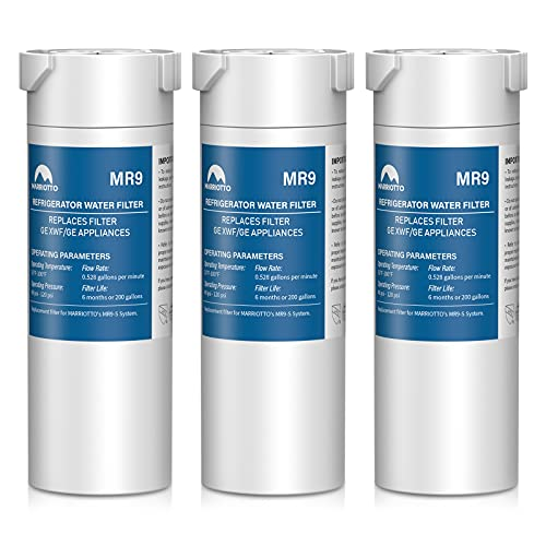 MARRIOTTO XWF Replacement for XWF Water Filter, 3 Pack
