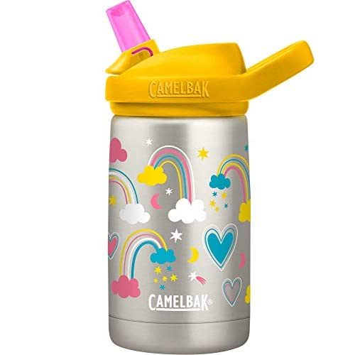 CamelBak Eddy Plus SST Vacuum Insulated, Bottiglie Unisex-Adulto, Arcobaleno Love, 35 Litres/12 oz